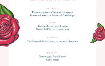 menu san valentino italiano